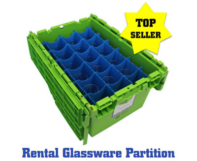 Rental Glassware Partition Slider 2