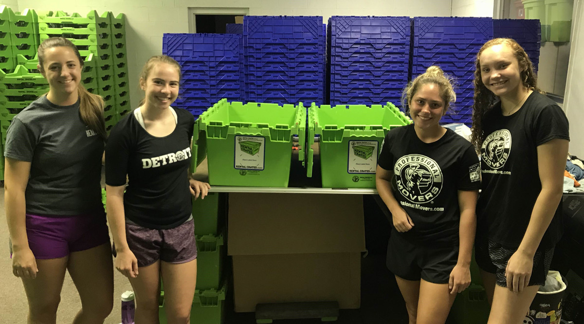 Rental Crates Cleaning Crew
