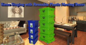 Rental Crates.com Home Staging with Plastic Moving Boxes Featured Image