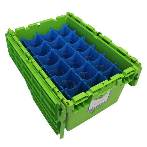 Rental Crates.com Rental Glassware Partition 1