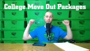 College Move Out Packages Icon